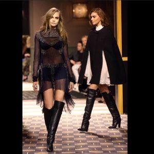 H&M Paris collection knee high boots
